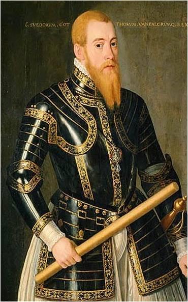 Kong Erik 14. malet af Domenicus Ver Wildt